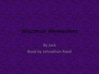 Wisconsin Werewolves