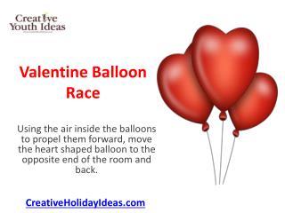 Valentine Balloon Race