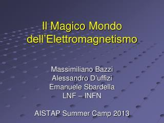 Il  Magico  Mondo  dell'Elettromagnetismo