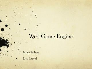 Web Game Engine