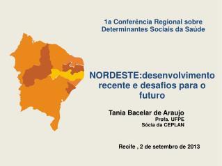 Recife , 2 de setembro de 2013