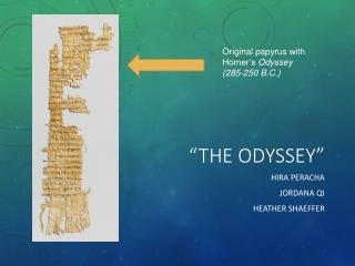 """The Odyssey"""