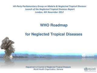 WHO Roadmap for Neglected Tropical Diseases