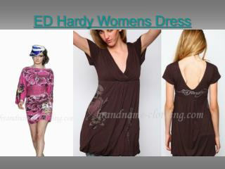 ED Hardy Womens Dress
