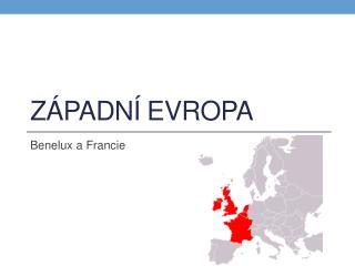 Západní Evropa