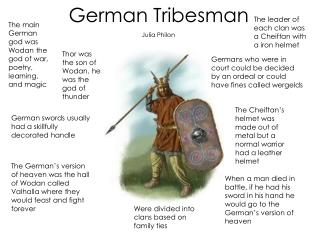 German Tribesman