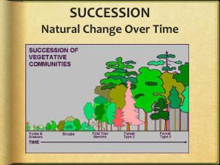 SUCCESSION Natural Change Over Time