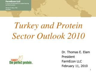 Turkey and Protein Sector Outlook 2010