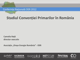 Conferința Națională OER 2012