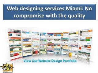 Web designing services Miami