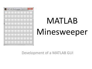 MATLAB Minesweeper
