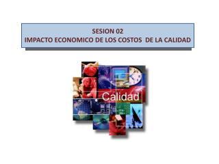 SESION 02 IMPACTO ECONOMICO DE LOS COSTOS  DE LA CALIDAD