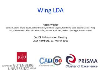 Wing LDA
