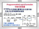 ProgrammableLogicController