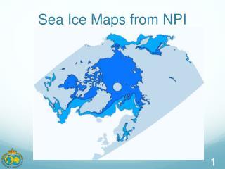 Sea Ice Maps from NPI