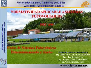 NORMATIVIDAD APLICABLE A SISTEMAS  FOTOVOLTAICOS  NEC  690