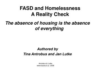 Why is housing important  The balancing act