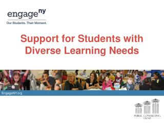 Support for Students with Diverse Learning Needs