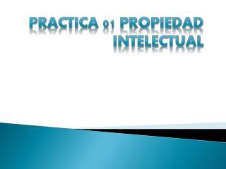 PRACTICA 01 PROPIEDAD INTELECTUAL