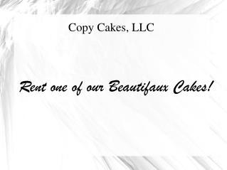 Copy Cakes, LLC