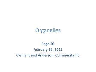 Organelles