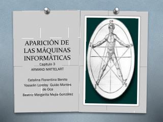 APARICIÓN DE LAS MÁQUINAS INFORMÁTICAS