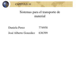 Banda transportadora Cart on track.