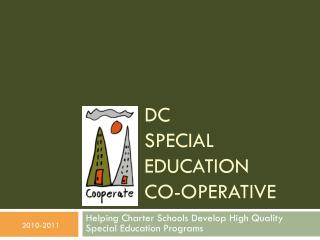 DC Special education  co -operative