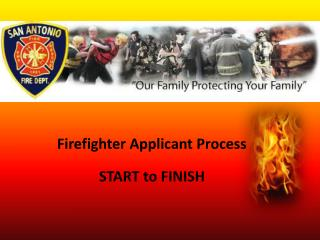 Firefighter Applicant Process START to FINISH