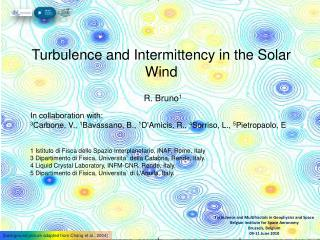 Turbulence and Intermittency in the Solar Wind