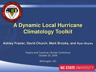 Ashley Frazier, David Church, Mark Brooks, and  Ryan Boyles