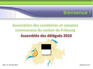 Association des secrétaires et caissiers communaux du canton de Fribourg