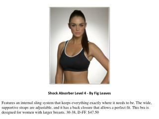 Shock Absorber Level 4 - By Fig Leaves