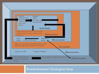 Bronfenbrenner's  Ecological Map