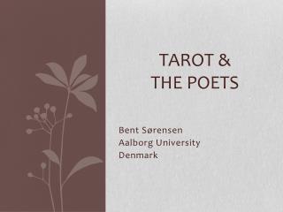 Tarot &  the Poets