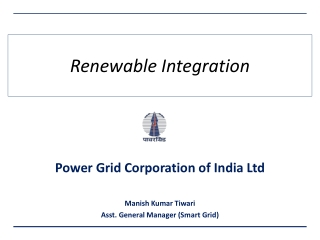 Smart Grid  Integration  of  Renewable Energy Resources