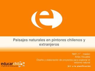 Paisajes naturales en pintores chilenos y extranjeros