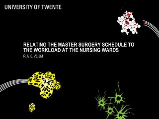 Relating the master surgery schedule to the workload at the nursing  wards