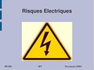 Risques Electriques