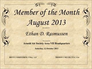 Awarded to