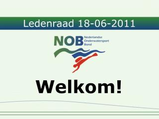 Ledenraad 18-06-2011