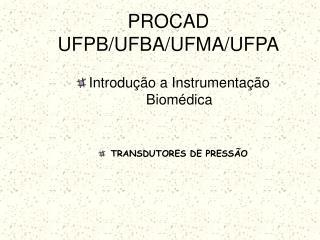 PROCAD UFPB