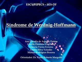 S ndrome de Werdnig-Hoffmann