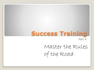 Success Training