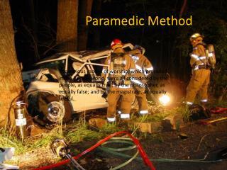 Paramedic Method