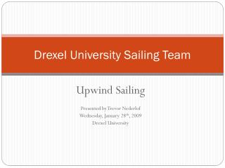 Drexel University Sailing Team