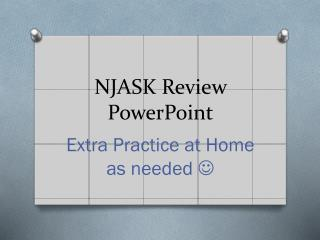 NJASK Review PowerPoint