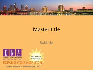 Master title