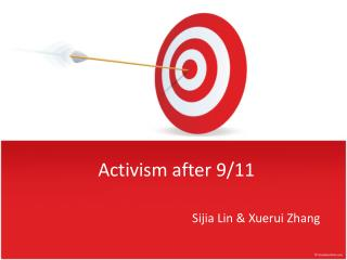 Activism after  9/11