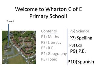 Welcome to Wharton C of E Primary School!